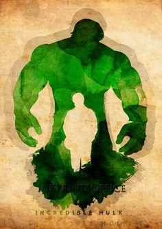 Hulk,avengers,incredible hulk,Watercolor print, illustration,Superhero,Wall Art,  Print Poster,Decorative Art,Comic Wall Art, Page Art