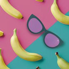 🍍El verano se acerca, siente el espíritu tropical 🍌 #sunglasses #summer #colorful