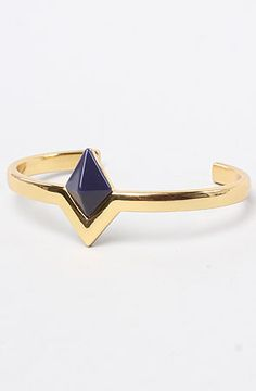 The Navy Triangle Cuff by House of Harlow 1960 $59.00