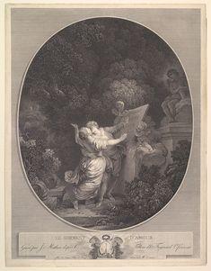Fragonard - Il Giuramento d'Amore