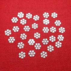 I am offering a package of white snowflake buttons. These buttons measure 3/4 and are two-holed, and made of plastic. A great item for your