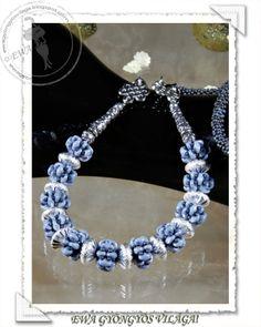 Ewa gyöngyös világa!: Minett necklace Minta / Pattern