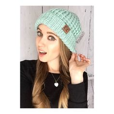 • Mint Chunky Beanie • Cozy weather season is here and it's time to bundle up in these absolutely gorgeous, high quality, thick and super warm chunky knit beanies. Ladies, these beanies are so softy and cozy and thick to brave the cold.This is a top seller, so get yours fast!   Colors: Rose, Ivory, Mint, Grey  PLEASE DO NOT purchase this listing. Comment what colors you want below and I'll make you a separate listing. ⚡️Please do not re-use my photo to sell your items. Thanks. No Trades…