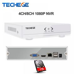 Techege NEW MINI NVR 4CH 8CH Full HD NVR 1920*1080P P2P ONVIF 2.0 For IP Camera HDMI Network Video Recorder  Price: 54.00 & FREE Shipping  #tech|#electronics|#home|#gadgets Admin Password, Cool Tech, Ip Camera, Bluetooth Headphones, Mini, Electronics Gadgets, Tech Gadgets, Free Shipping, Instagram Posts