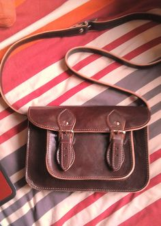 Cute leather satchel