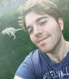 Hey guys. I know i haven't been posting that much recently and i want to be honest. I haven't been feeling very confident lately and been kinda down on myself but i'm working on it. Just been sick and haven't been able to work out and i'm just feeling kinda gross. So here's a pic of me on the grass with uno taking a shit to make up for my lack of posts. thanks for always supporting me and making me smile :) ❤️
