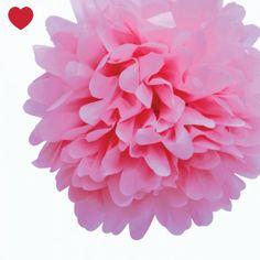 Nieuw in de shop is deze mooie pompom baby roze, een aanvulling voor elk feestje, babyshower, sweet table of bruiloft. Combineer ze met