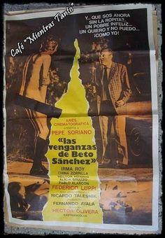 """Cine Sala """"Charles Chaplin"""": Las venganzas de Beto Sánchez(1973)... Ingresar a la sala pulsando el Link: http://cine-sala-a01-jcp.blogspot.com/2014/12/las-venganzas-de-beto-sanchez-1973.html"""