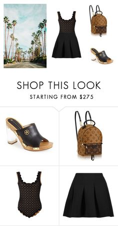 """""""Palm Springs"""" by noeli-da-fonseka ❤ liked on Polyvore featuring Trina Turk, Marysia Swim and T By Alexander Wang"""