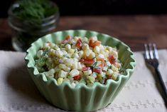 Sweet Dill Corn Salad | SoupAddict.com