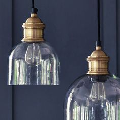 Flori Glass Pendant Light