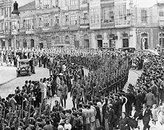 Puerto de Vigo. La Legión Cóndor regresa a Alemania María Torres / 26 Mayo 2014 A las doce y media de la mañana del 26 de may...