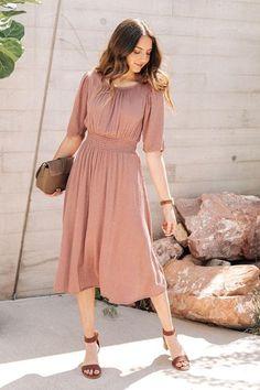 New Arrivals – böhme Modest Dresses Casual, Modest Outfits, Modest Fashion, Women's Fashion Dresses, Cute Dresses, Beautiful Dresses, Dress Outfits, Summer Dresses, Simple Dresses