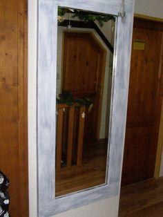 rám na zrcadlo vyrobil můj muž a já jsem natřela Oversized Mirror, Furniture, Home Decor, Decoration Home, Room Decor, Home Furnishings, Home Interior Design, Home Decoration, Interior Design