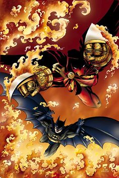 Azrael & Batman