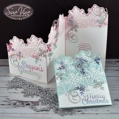Turtorial showing how to create z-fold card using Snowflake Senitments by Sue Vine | MissPinksCraftSpot | Stampin' Up!® Australia Order Online 24/7 |Snowflake Sentiments |z-fold | Christmas | Fun Fold | #snowflakesentiments #christmas #zfold #funfold #tutorial #handmadecard #rubberstamp #stampinup