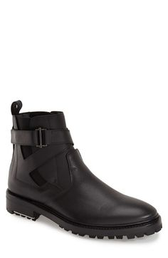 Lanvin Belted Chelsea Boot (Men) available at #Nordstrom
