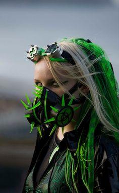 #Cybergoth girl