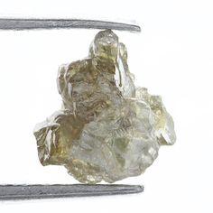 0.66 Carat Fancy Silver Redish Natural  Rough Diamond