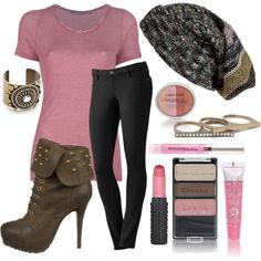For back-to-school beauty, think pink & have your prettiest year ever! Pink doesn't have to be girly girl. It can be sweet, sexy & sassy! With fresh new shades for fall, the styling possibilities are endless. Even pink can be bad-ass when paired with a tee, jeggings & bold, edgy booties. Add a slouchy beanie, seriously sexy jewels & a perfect palette of pink. What's your favorite shade of pink?