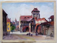 Construit in secolul 15, intarit/transformat in sec. 16, demolat in 1857. A fost…