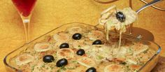 Receita de Bacalhau da tia Francisca. Descubra como cozinhar Bacalhau da tia Francisca de maneira prática e deliciosa com a Teleculinaria!