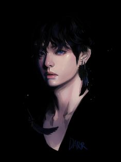 mil Me gusta, 183 comentarios - BTS (방탄소년단) Taehyung Fanart, Anime Guys, Art, Pictures, Boy Art, Fan Art
