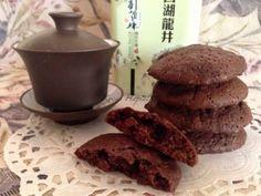 Csokis keksz   mókuslekvár.hu Cookie Jars, Winter Food, Crinkles, Biscuits, Muffins, Food And Drink, Chips, Sweets, Beef