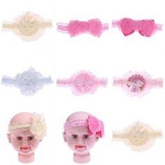Cute Baby Infant Toddler Kids Girl Headband Flower Hair Band Headwear Headdress