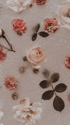 Iphone Background Wallpaper, Tumblr Wallpaper, Flower Wallpaper, Pattern Wallpaper, Flower Aesthetic, Pink Aesthetic, Aesthetic Pastel Wallpaper, Aesthetic Wallpapers, Pretty Wallpapers