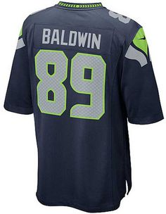 Give a shout-out to the Seattle Seahawks and Doug Baldwin with this Nike NFL Game jersey. Inspired by the jerseys worn on the field, this replica…