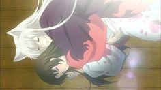 Tomoe & Nanami from Kamisama Kiss Kamisama Kiss, Tomoe, Nanami, Anime Pixel Art, Anime Art, Dragon Rise, Manga Cute, Kaichou Wa Maid Sama, Cute Anime Couples