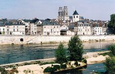 Loire River Valley, Orleans, Skyline from across Loire by m. muraskin-france, via Flickr.