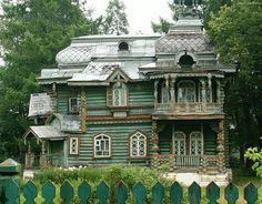 Нижегородская область, Володарск, Д1 (IM1497-F2006), модерн, русский стиль (терем)
