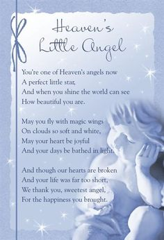 Discover and share Baby Angels In Heaven Quotes. Explore our collection of motivational and famous quotes by authors you know and love. Angel In Heaven Quotes, Angel Quotes, Angels In Heaven, Happy Birthday In Heaven, Pregnancy And Infant Loss, Pregnancy Poem, Ectopic Pregnancy, Grieving Quotes, Memorial Cards