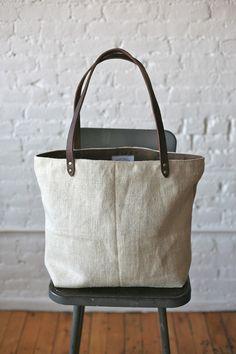 1930s era Linen Tote Bag - FORESTBOUND - A responsive Shopify theme