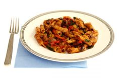 Wine-Stained Pasta With Sausage Meatballs and Cauliflower | The Dr. Oz Show, use GF pasta.
