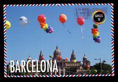 ¡Postal de Barcelona! El Gaixample, es uno de los barrios gais más importantes del mundo, situado en la izquierda del Ensanche barcelonés, alberga centenares de locales de ocio, restaurantes y hoteles. Y si tenéis la suerte de estar en Barcelona a principios de agosto no os perdáis el Circuit, miles de gais y lesbianas llegados de todo el mundo en el mayor certamen LGTBI del verano.