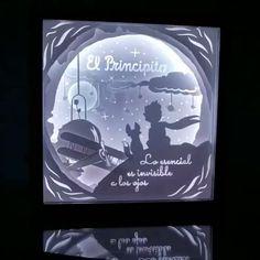 Detalle de la lamparita del principito, enciende en muchos colores✨ ¿cuál es tu favorito? . 🛸Envios a todo Colombia . ✉ Info por DM @aborigendesign . #paper #papercut #art #paperart #papercuttingart #papercutting #decor #decoracion #design #interiordesign #layers #cuadro #colombia #handmade #hechoencolombia #artecolombiano Paper Cutting, Design, The Little Prince, Picture Wall, Colombia, Paper Envelopes, Colors, Art