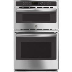 Ge Self-Cleaning With Steam Microwave Wall Oven Combo (Common: 27-In;