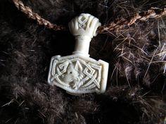 Mjolnir pendant by ~SimonSaysBaka on deviantART