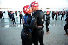 Triathlon ❤ WOW! This couple is amazing!