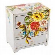Image result for Painted Wooden Chest