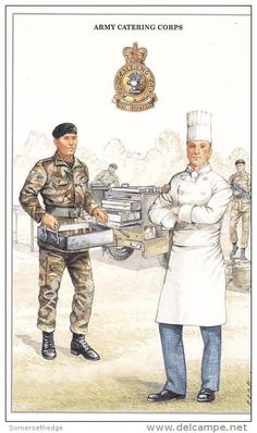 British; Army Catering Corps, Private & Sergeant