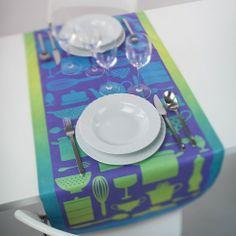 Kitchen Kit table runner by Spaziale Splendy | www.lovethesign.com/uk