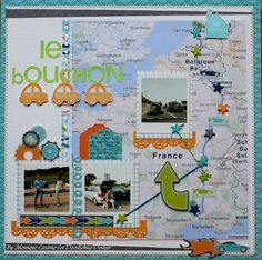 Doodlebug Design Inc Blog: Travel Layouts by Monique Liedtke