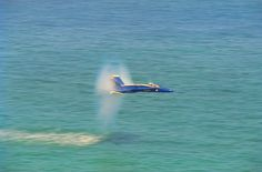Blue Angel, Supersonic over Water.