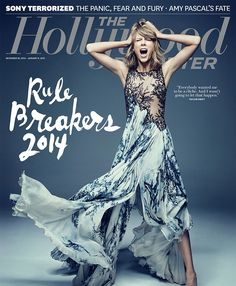 Taylor Swift Is a Beautiful Crazy Lady on New Hollywood Reporter Cover | Cambio