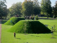 The Three Highs - Fuglsang Art Museum - Landscape Architect - Schønherr Landscape Architecture, Architecture Design, Manor Garden, Land Art, Horticulture, Ecology, Art Museum, Playground, Lawn