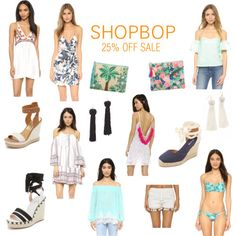 Sale Alert! @shopbop 25% off site wide sale is happening now through April 7th!  Shop my picks on my blog today!